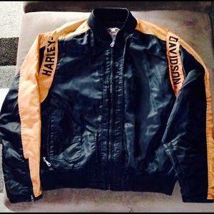 Harley Davidson Vintage nylon jacket.